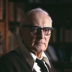 Hugh Nibley, 1983 Photo by Mark Philbrick/BYU