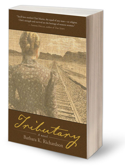 Barbara K. Richardson's Tributary, Winner of the 15 Bytes Book Award, 2013