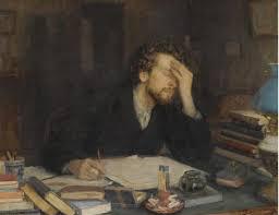 agonizing writer